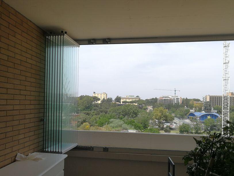 vetrata panoramica